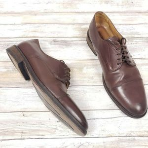 Johnston & Murphy Cap Toe Oxfords Size 10